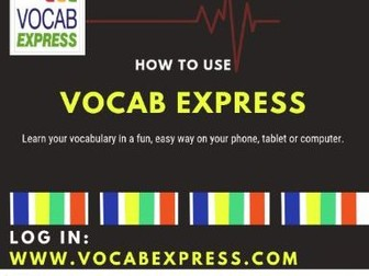 Vocab Express Student Instructions Sheet