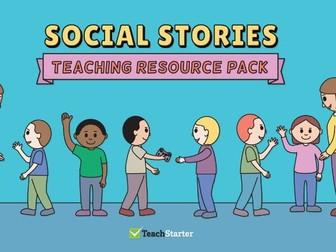 Social Stories Teaching Resource Pack