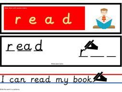 Make and Write Word and Sentences