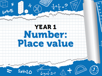 Year 1 - Place Value - Week 2 - Counting Forwards, Backward and Counting One More