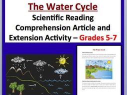 The Water Cycle - Science Reading Article - Grades 5-7