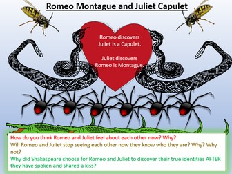 Romeo and Juliet - Discovering Identities