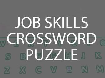 Job Skills Crossword Puzzle (US)