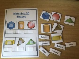 2D & 3D Shape Matching