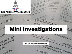 Mini Investigations