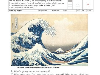 Art - The Great Wave Analysis