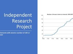 Independent Research Project - newest  elements  100+  - differentiation tool - revised