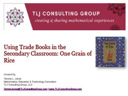 Using Trade Books in the Secondary CR: One Grain of Rice