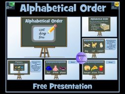 Alphabetical Order: Lesson Presentation