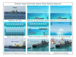 Battleship Spanish PowerPoint Game Template