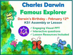 Charles Darwin KS1 Assembly and Lesson