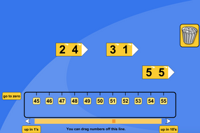Partitioning Numbers Interactive Tool - KS1 Number
