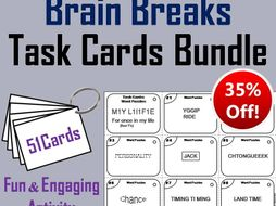Brain Breaks Task Cards