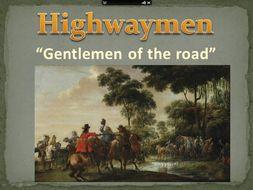 KS2 Powerpoint lesson(s) Highwayman /Dick Turpin