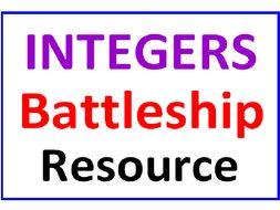 Integers Battleship Resource
