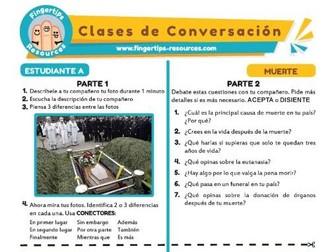 Muerte - Spanish Speaking Activity