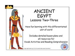 AncientEgypt:VocabandReadingComprehensionLesson