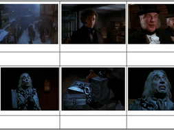 AQA New Lit Spec - A Christmas Carol Storyboards Stave 1-5 | Teaching Resources