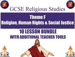 Religion, Human Rights & Social Justice (10 Lesson Unit) (AQA GCSE Religious Studies)