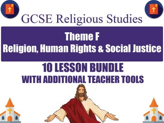 Religion, Human Rights & Social Justice (10 Lesson Unit) (AQA GCSE Religious Studies)