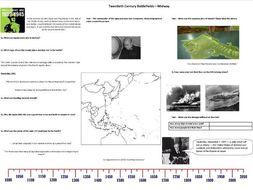 BBC Twentieth Century Battlefields - Ep2 - Midway - Worksheet to support the BBC Documentary