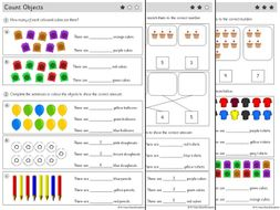 YEAR 1 - Place value - White Rose - WEEK 1 - Block 1 - Autumn -  COUNT OBJECTS ( FREE )