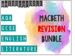 Macbeth REVISION Bundle