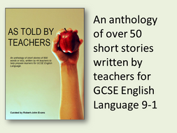 As Told By Teachers - An Anthology of Short Stories for GCSE English Language