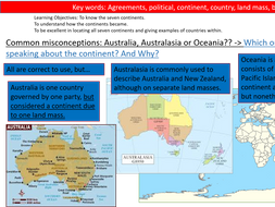 ENTIRE UNIT- KS3- Year 7 Geography- Where in the World?