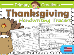 thanksgiving handwriting sheets prek to kinder usa letter formation recognition pencil. Black Bedroom Furniture Sets. Home Design Ideas