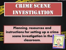 Crime Scene Investigation Activity