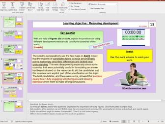 L2 - Measuring Development - [Unit 2, Section B, Development Gap] - [AQA GCSE Geog New spec]