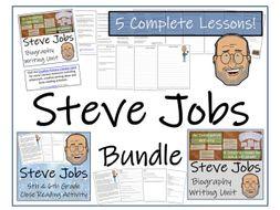 UKS2 Literacy - Bundle of Steve Jobs Activities