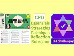 Behaviour Management CPD Pack