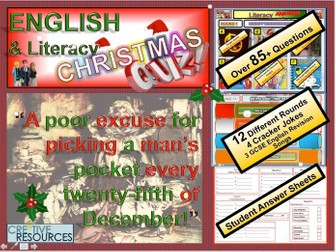 English Christmas Quiz