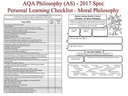 moral philosophy as level aqa philosophy 2017 spec onwards personal learning checklist. Black Bedroom Furniture Sets. Home Design Ideas