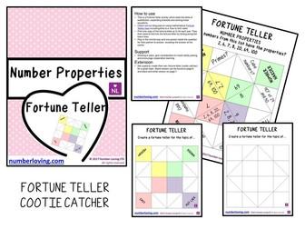 Number Properties Fortune Teller