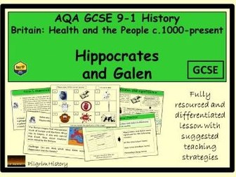 Hippocates and Galen
