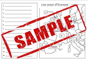 Carte Europe Pdf.Carte Des Pays D Europe