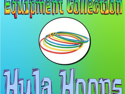 PE Equipment Collection Hula Hoops