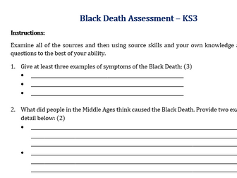 Black Death Assessment
