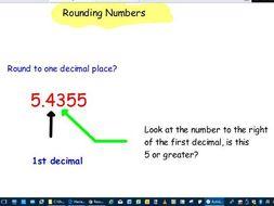 Rounding to decimal places