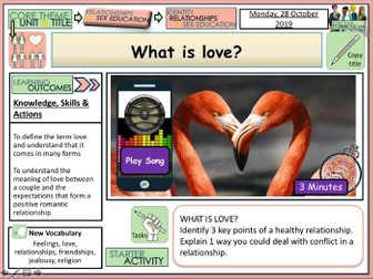 What is Love ?  PSHE