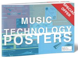 Music Technology Posters – 10 Posters
