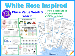 Place Value Year 3 Lessons Week 3