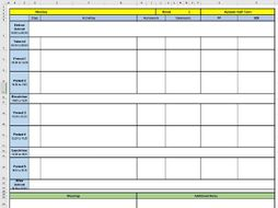 Teacher Planner - Digital