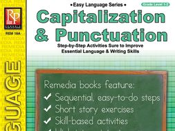 Capitalization & Punctuation: Easy Language Series