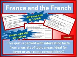 France and the French Quiz