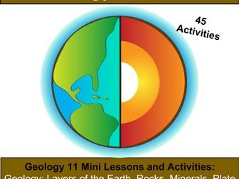Geology: Earth Science Bundle