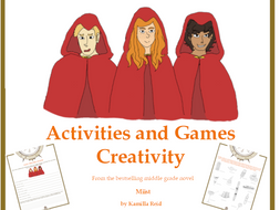 Use Your Creativity - Fun worksheets inspired by Miist by Kamilla Reid
